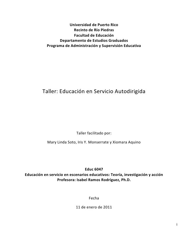 Portafolio taller educ en serv 11 enero de 2011