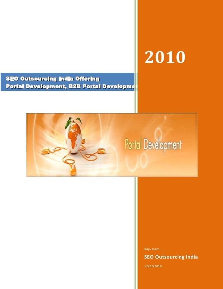Portal Development India | B2B Portal Development | B2C Portal Development | Shopping Cart Development India | Ecommerce Portal Developmen