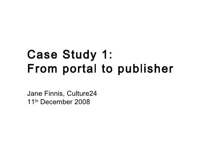 24 Hour Museum - Portal To Publisher