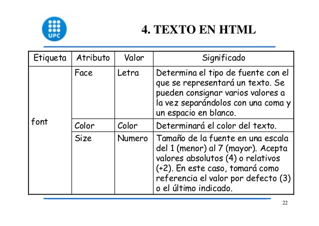 Etiquetas Color Html Texto en Html Etiqueta