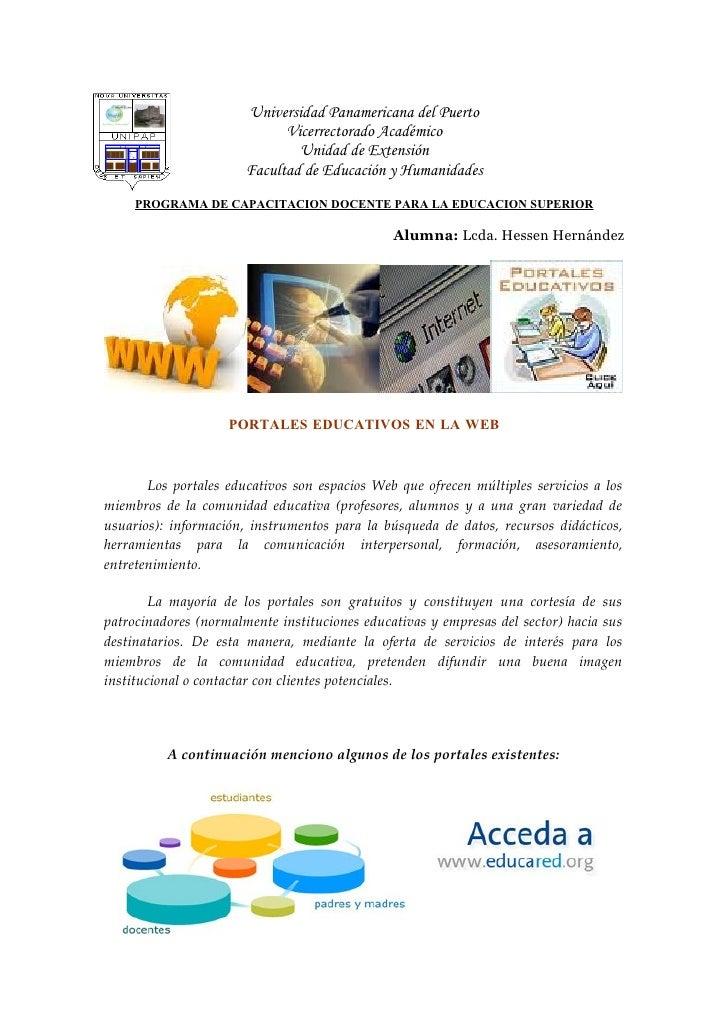 Universidad Panamericana del Puerto                              Vicerrectorado Académico                                U...