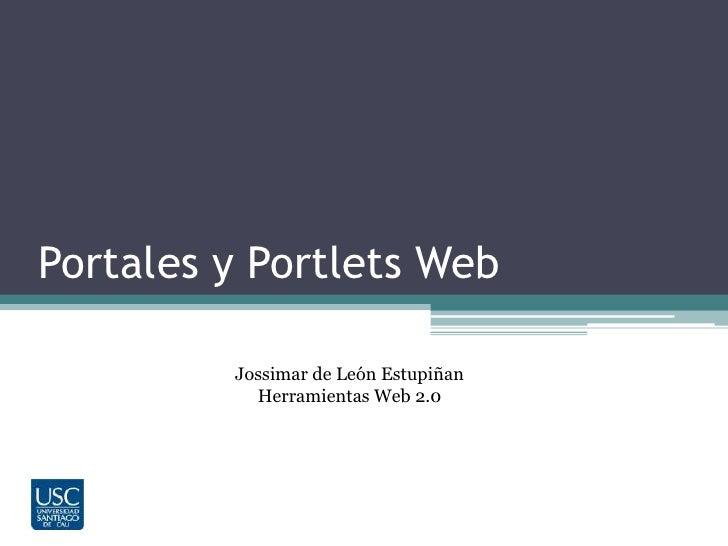 Portales y portlets web