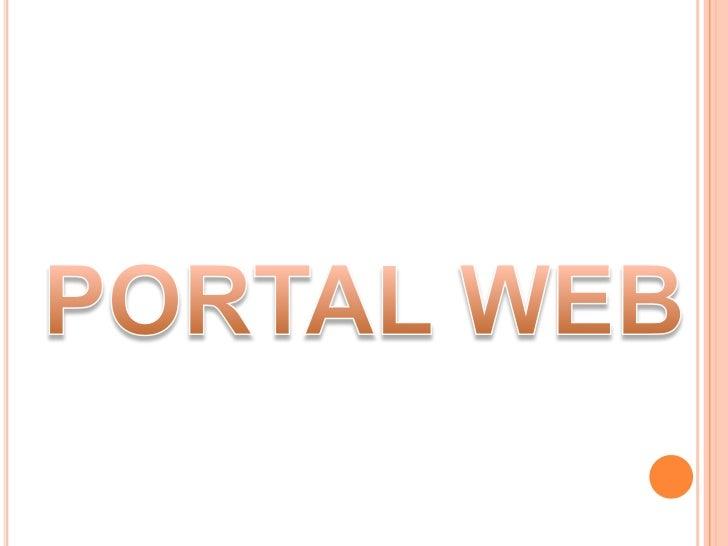 PORTAL WEB<br />