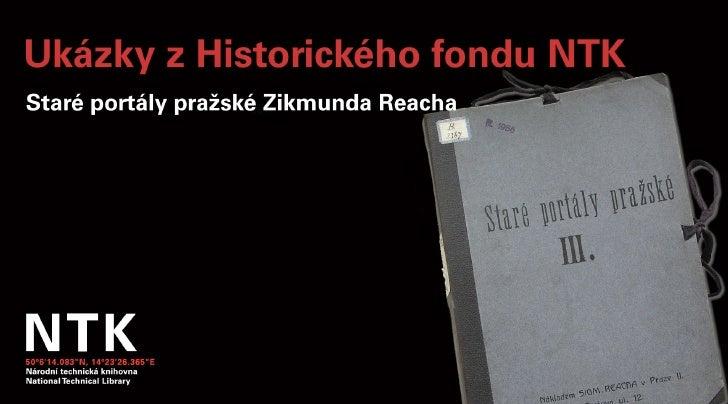 Staré portály pražské (III.)