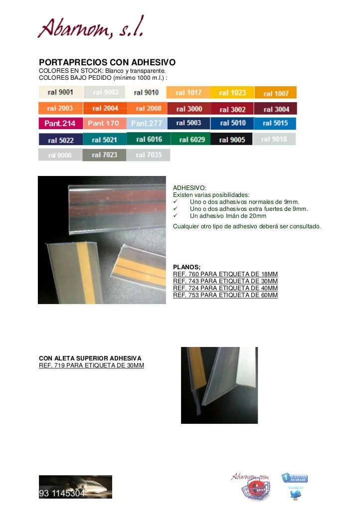 Portaprecios, stopers y frontales abarnom equipamiento comercial.doc