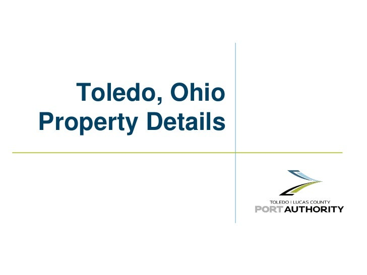 Port Authority Opportunities @ Toledo