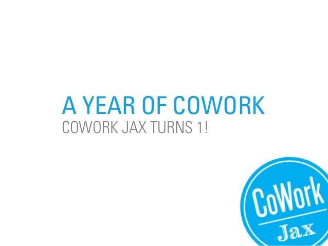CoWork Jax Anniversary Slideshow