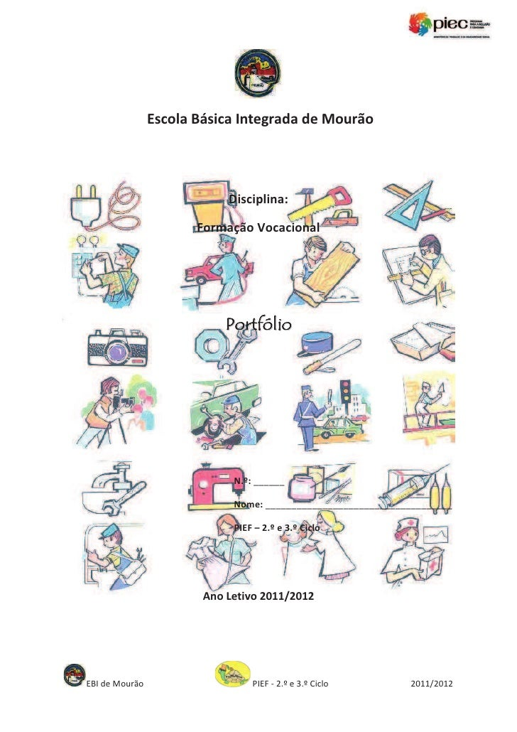 Portefólio formação vocacional_pief_mourão