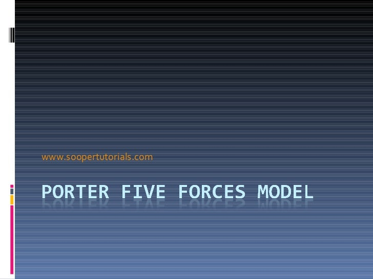 maxis porter 5 forces Porter's five competitive forces template porter's five competitive forces tool is a simple but powerful tool for understanding the power of the different competitive forces in any market or industry.