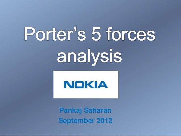 Porter 39 s 5 forces analysis nokia for Porter 5 forces critique