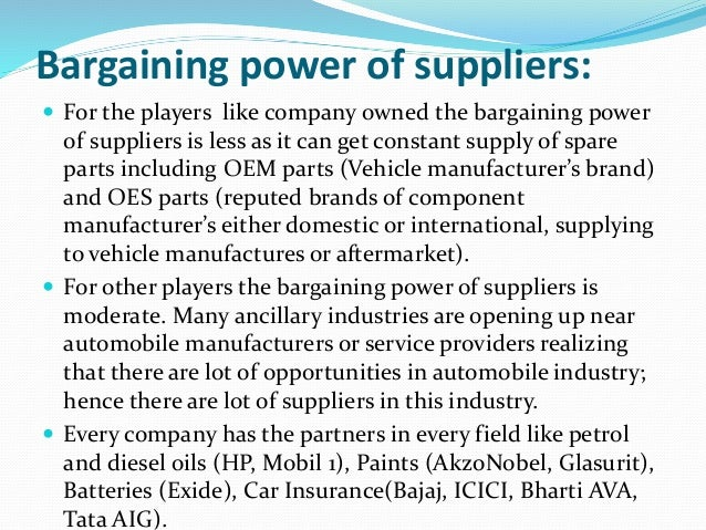 power of suppliers analysis According to porter's five forces analysis, buyers use bargaining power to force price reductions, demand better quality and increase competition.