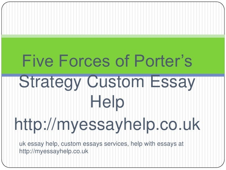 porter five forces research paper