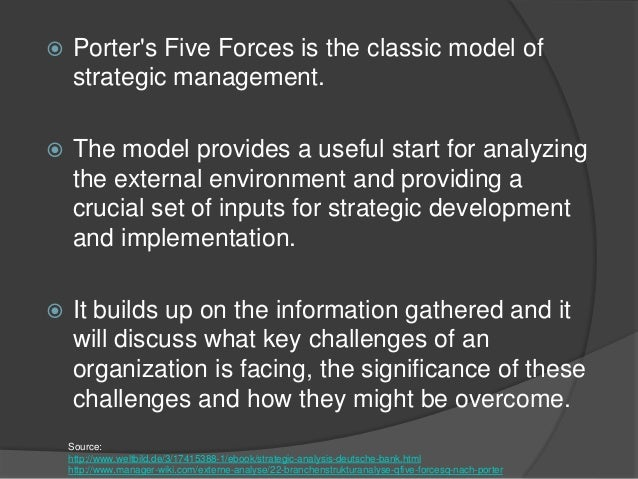 porter five forces 2 essay Porter five (5) forces analysis custom term papers for just $11 porter 5 forces analysis can help an organization to assess industry attractiveness - rivalry,bargaining power of buyers.