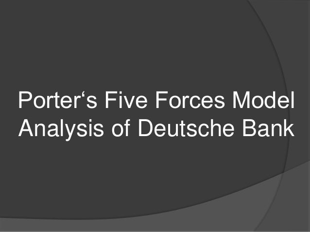 cooperative banks porters model A discussion of porter's 5 forces, including rivalry, the threat of substitutes, buyer   at other times, local hospitals are highly cooperative with one another on  in  the late 1970's, the strategy of banks shifted from simple marketing tactics to.