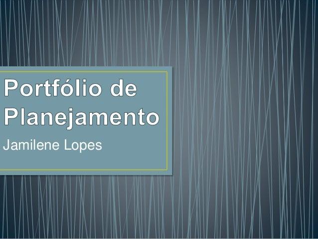 Jamilene Lopes