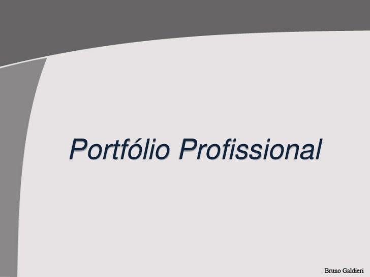 Portfólio Profissional
