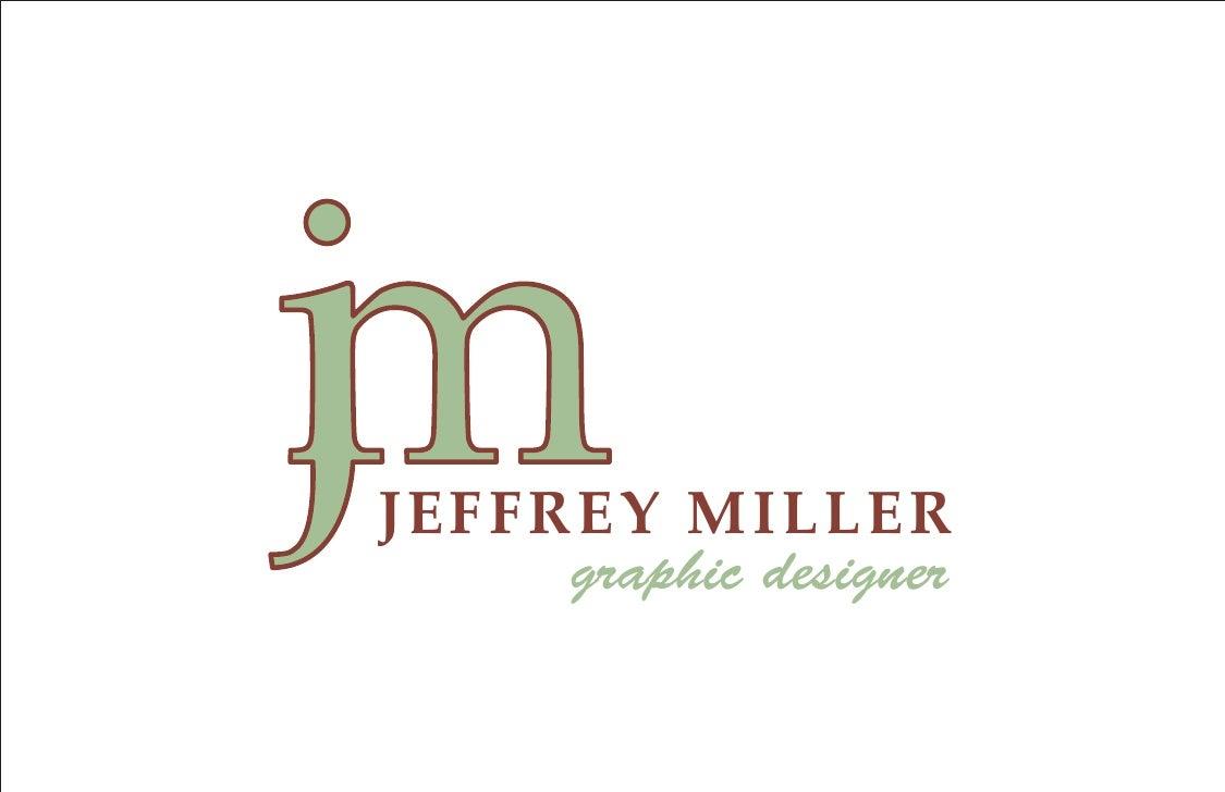 JEFFREY MILLER      graphic designer