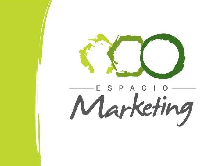 Portfolio Espacio Marketing - Servicios