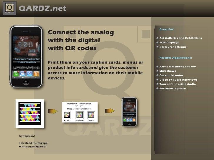 QARDZ.net                                                                     Great For:                        Connect th...