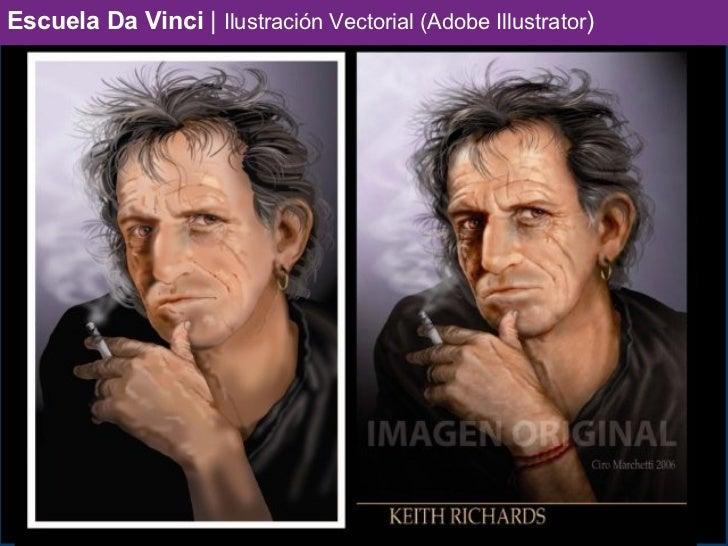 Escuela Da Vinci | Ilustración Vectorial (Adobe Illustrator)
