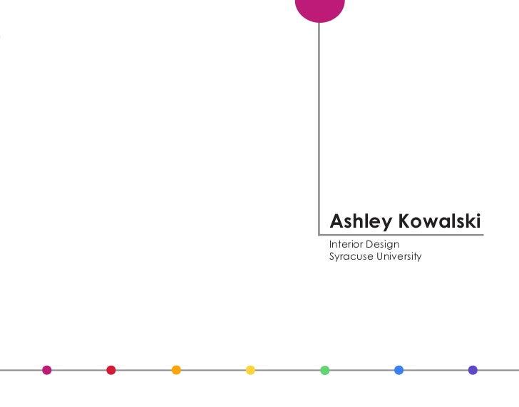 Ashley Kowalski Interior Design Syracuse University