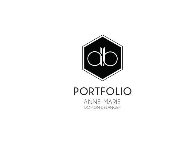 PORTFOLIO Anne-Marie Dorion-Bélanger