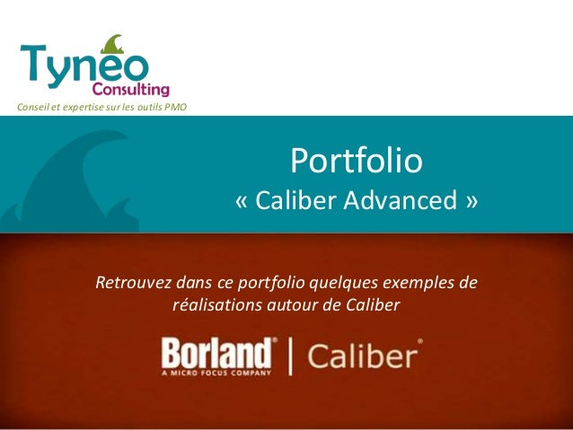 Portfolio - Caliber advanced