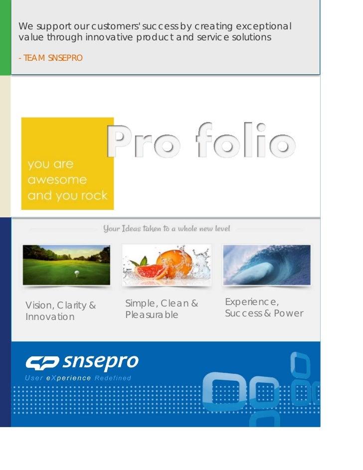 Portfolio of Social Sites - Snsepro