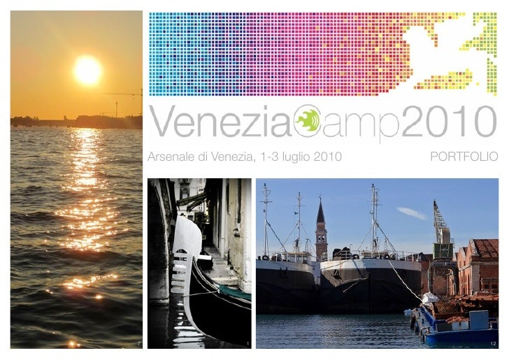 Arsenale di Venezia, 1-3 luglio 2010   PORTFOLIO7                     1                           12