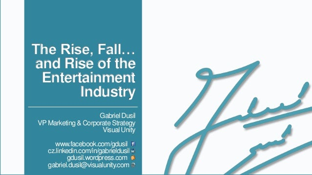 OTT & Multiscreen • The Rise, Fall.. and Rise of the Entertainment Industry