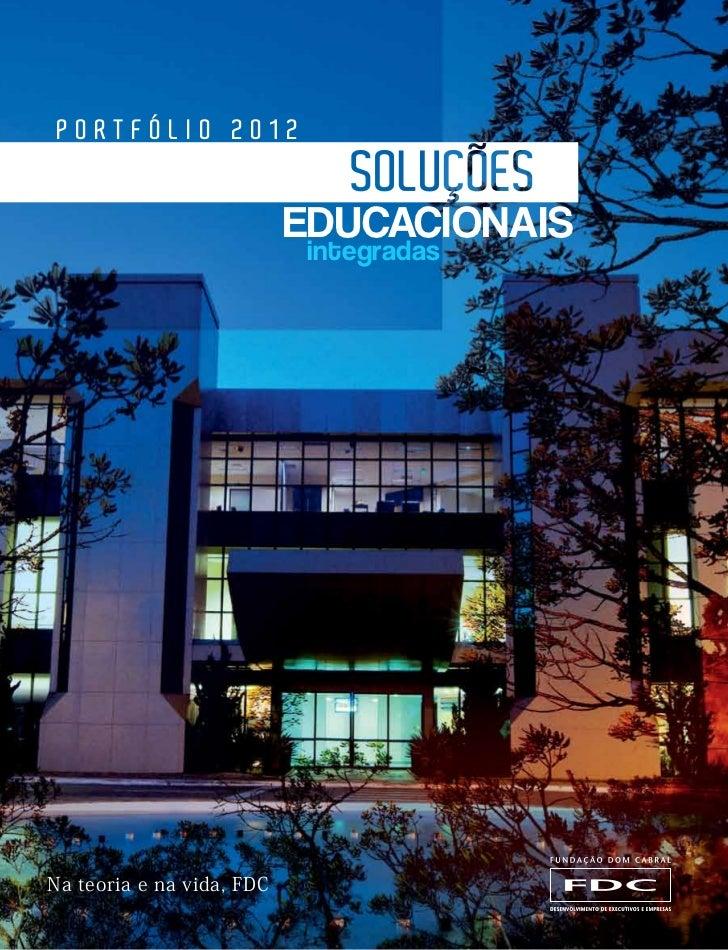 portfólio 2012                           educacionais                           integradasNa teoria e na vida, FDC        ...