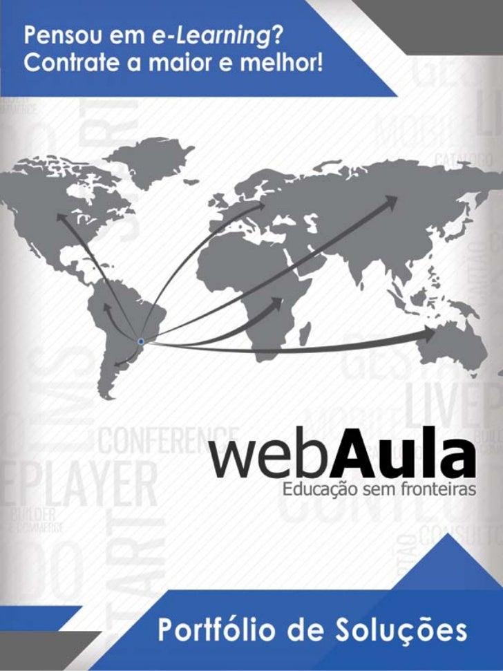 Portfolio webAula - 2012