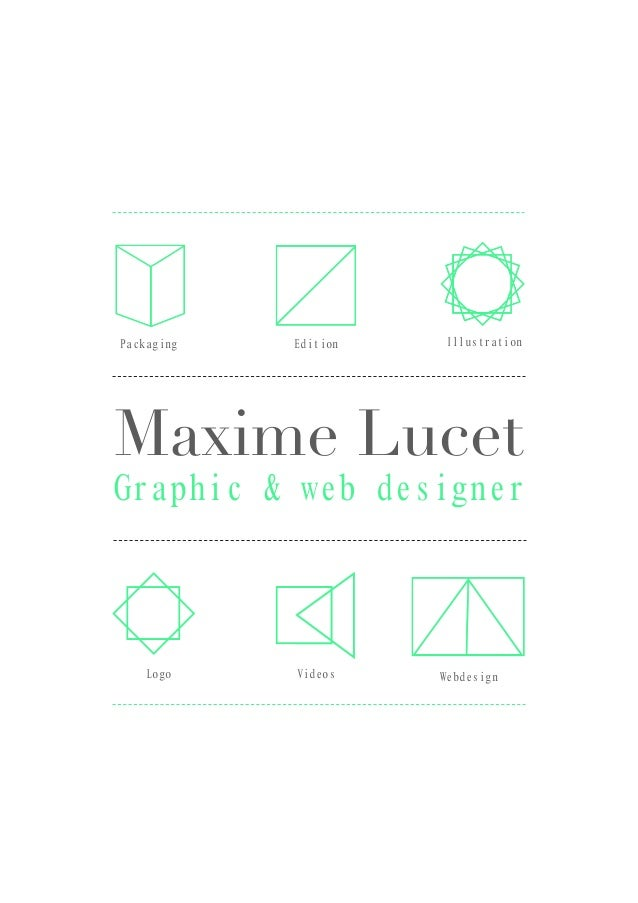 Maxime Lucet Graphic & web designer IllustrationEditionPackaging Logo Videos Webdesign