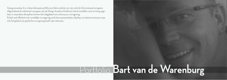 XS portfolio Bart van de Warenburg