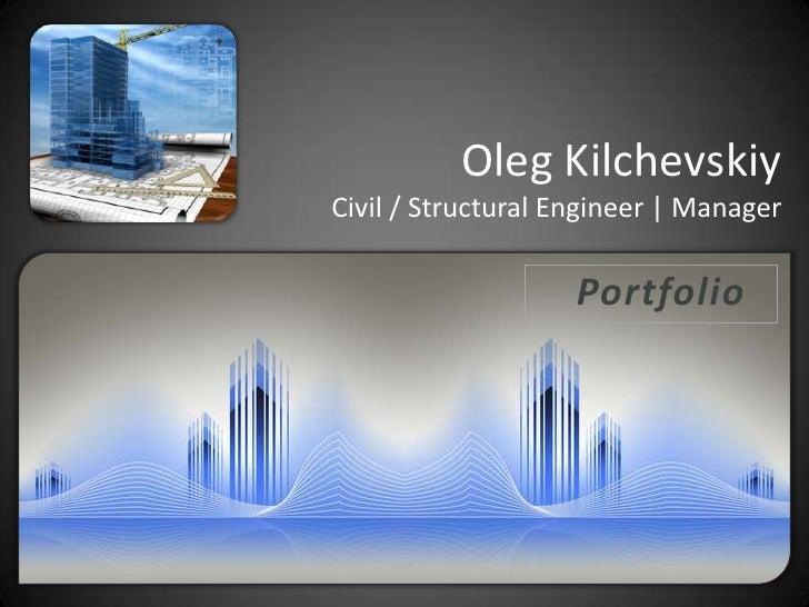 Portfolio Civil / Structural Engineer | Designer | Manager