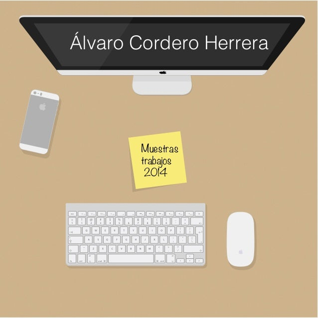 Muestras trabajos 2014 Álvaro Cordero Herrera