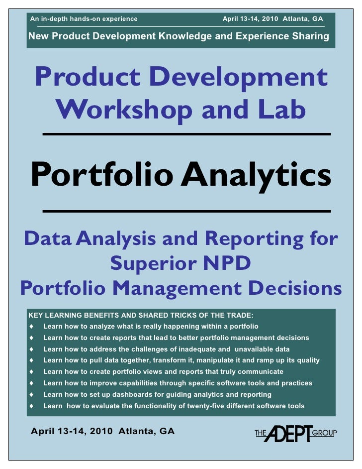 Portfolio Analytics And Reporting Ws Apr2010 B