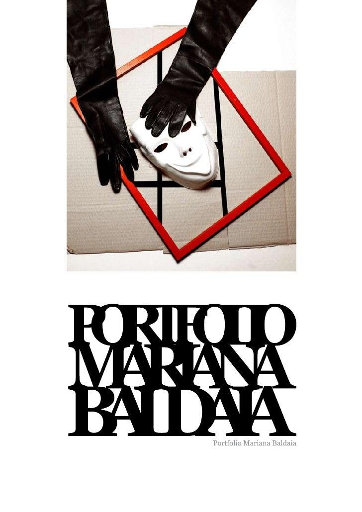 Mariana Baldaia  Portfolio Livro. 21 cm. x 29.7 cm. Porto.2009   Design.Mariana Baldaia Fotografia.Mariana Baldaia Impress...