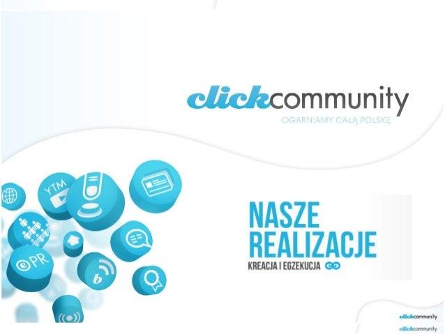 click community - nasze realizacje CC 2010