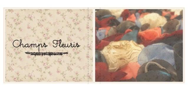 Portfolio champs fleuris