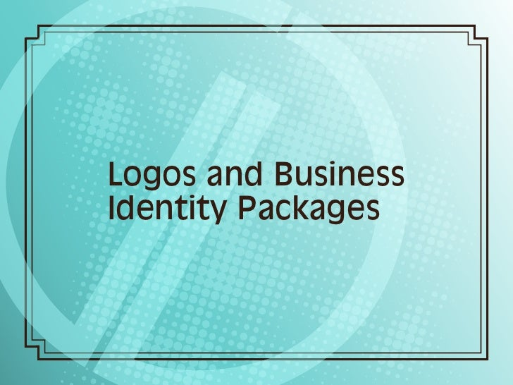 Logos and Business Identity Packages