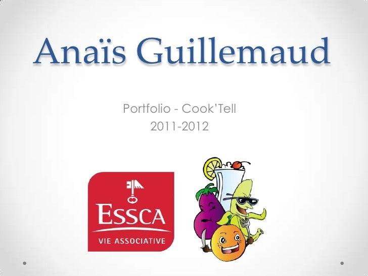 Anaïs Guillemaud - Portfolio - Cook'Tell (2011-2012)