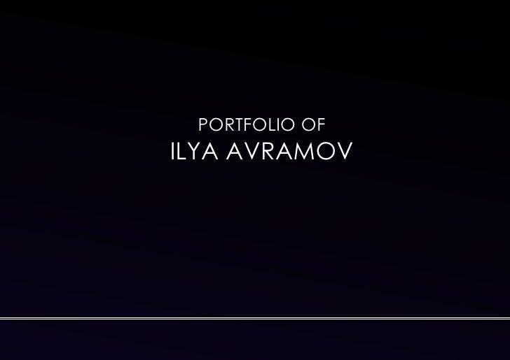 PORTFOLIO OFILYA AVRAMOV