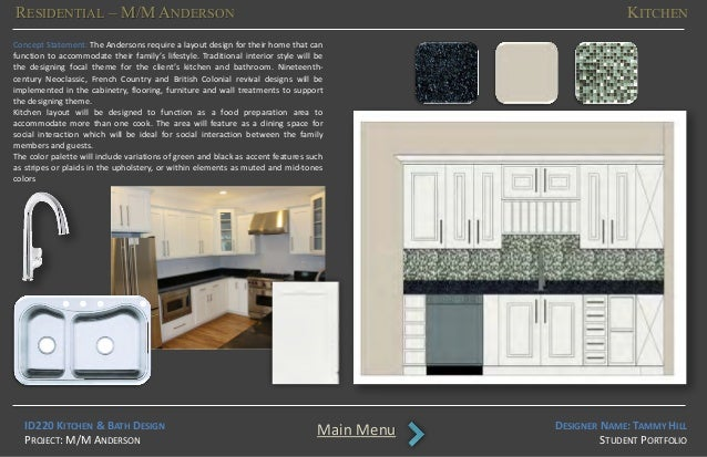 Aio student portfolio hill tammy for Bathroom design qualification