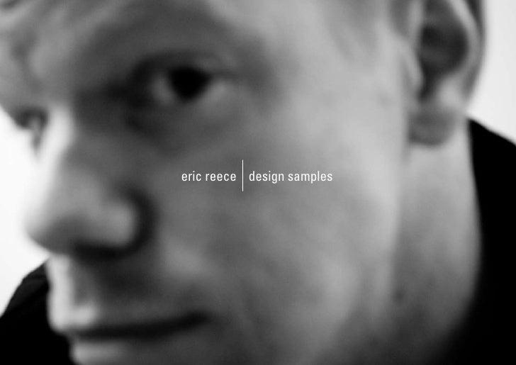 eric reece design samples