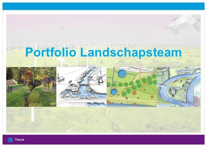 Portfolio Landschapsteam