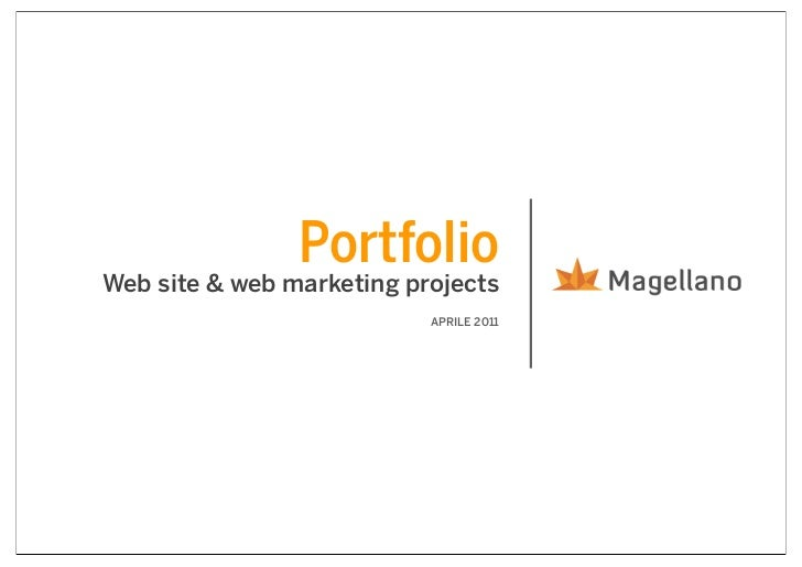 PortfolioWeb site & web marketing projects                           APRILE 2011