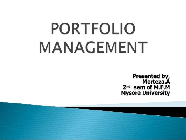 Presented by,       Morteza.A2nd sem of M.F.MMysore University