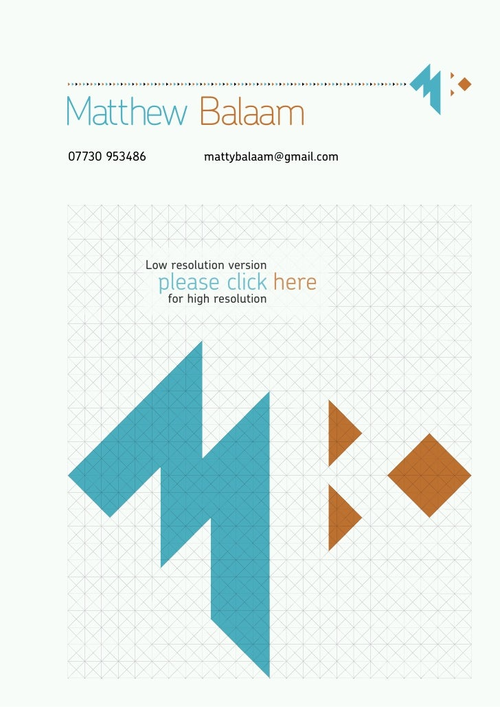 Matthew Balaam Portfolio and CV: Lores