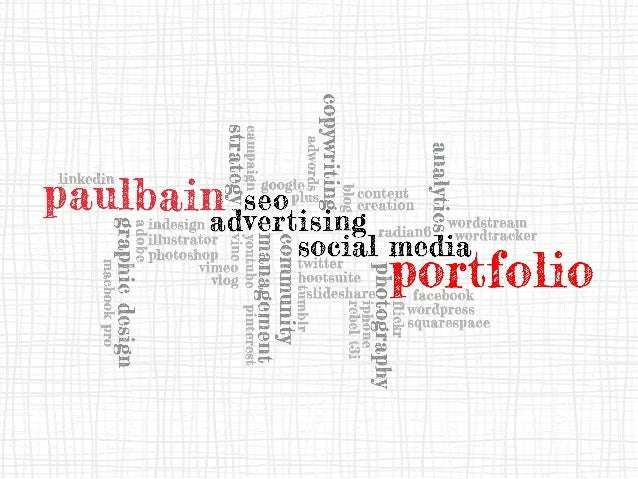 Internet Marketing Portfolio (SEO, Advertising & Social Media)